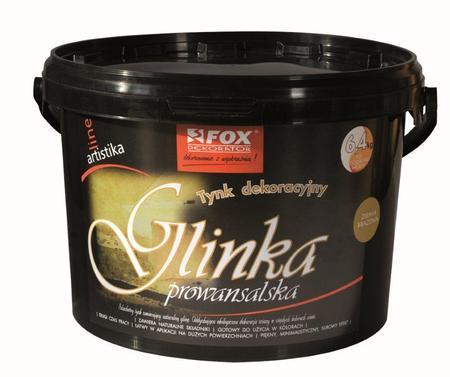 Tynk dekoracyjny Glinka Prowansalska FOX