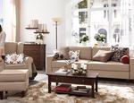 Aranzacje salonu klasyczny salon i dekoracyjne dodatki Tchibo