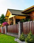 Ogrodzenie drewniane Modern DREWBET