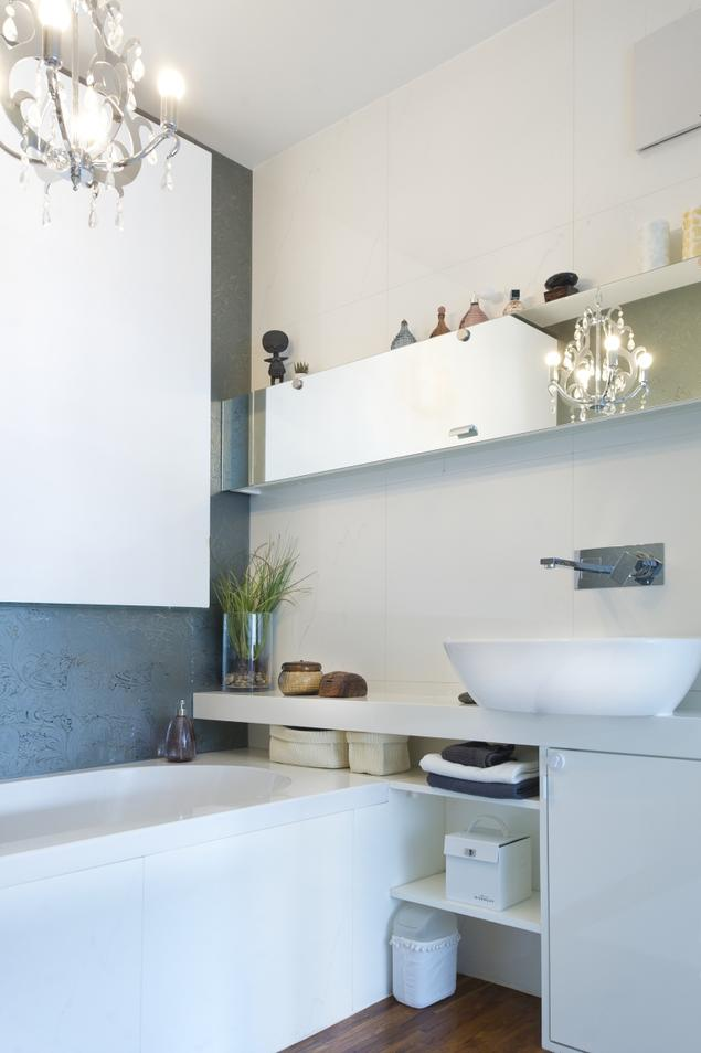 Mała łazienka: blask i szyk. Aranżacje małych łazienek