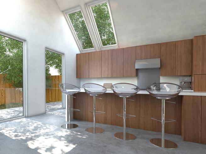 Zobacz galerię zdjęć Drewniana kuchnia  styl