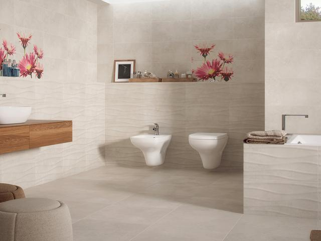 Kremowe Płytki Ceramiczne Do Nastrojowej Aranżacji łazienki
