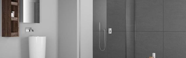 Kabiny prysznicowe typu walk-in w aranżacji nowoczesnej łazienki