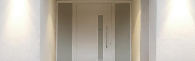 Aluminiowe drzwi wejściowe Modern firmy EFFECTOR